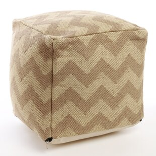 Bold Chevron Pouf by Best Home Fashion, Inc.