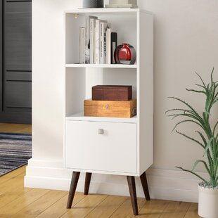 Nightstand With Bookshelf