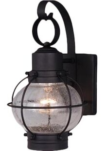 Cosgrove 1-Light Outdoor Wall Lantern By Beachcrest Home Outdoor Lighting