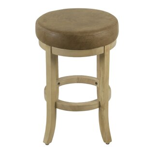 Davie 24 Swivel Bar Stool by Gracie Oaks
