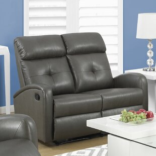 Check Prices Reclining Loveseat by Monarch Specialties Inc. Reviews (2019) & Buyer's Guide