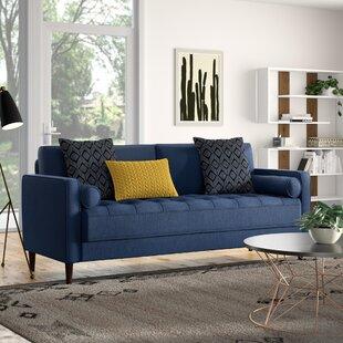 Blue Suede Sofa | Wayfair