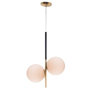 Bohrer 2-Light Novelty Pendant by George Oliver