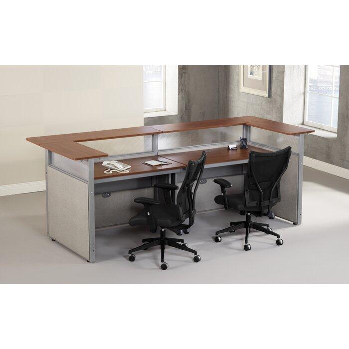 Rize Panel System U Shape Reception Station