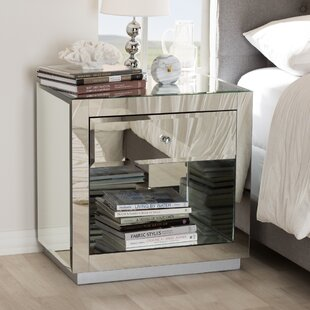 Mercer41 Kaplan 1 Drawer Nightstand