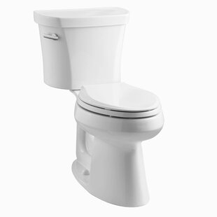 Kohler Highline Comfort Height 1.28 GPF Elongated Two-Piece Toilet