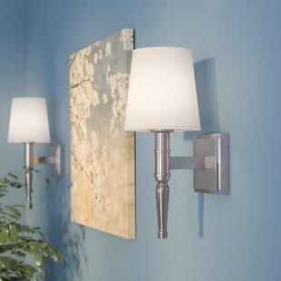Price Check Quinlan 1-Light Wallchiere By Latitude Run