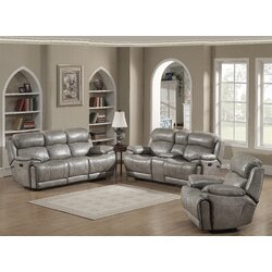 AC Pacific Estella 3 Piece Living Room Set & Reviews   Wayfair