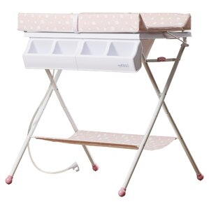 bathinette foldable bathtub and changer combo