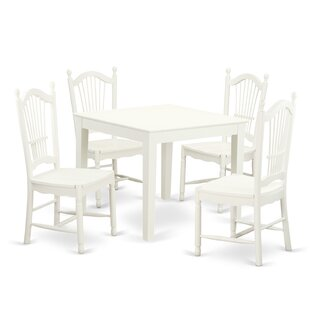Cobleskill 5 Piece Dining Set