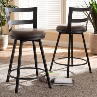 Karina 26 Bar Stool (Set of 2) 17 Stories