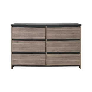 Clearance Fleetwood 6 Drawer Double Dresser by Harriet Bee Reviews (2019) & Buyer's Guide