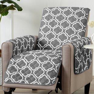 Printed Reversible T-Cushion Slipcover