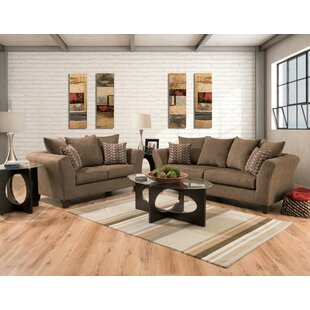 Stroman 2 Piece Living Room Set by Wrought Studio
