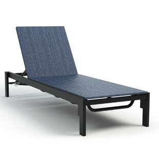 Friedman Adjustable Armless Reclining Chaise Lounge