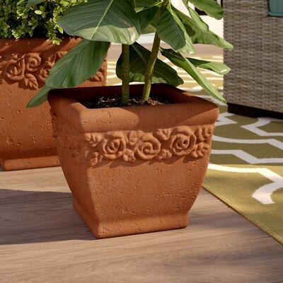 Matelles Hand Pressed 2-Piece Terracotta Pot Planter Set Sol 72 Outdoor