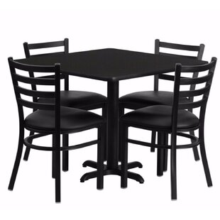 Maupin Square Laminate 5 Piece Dining Set