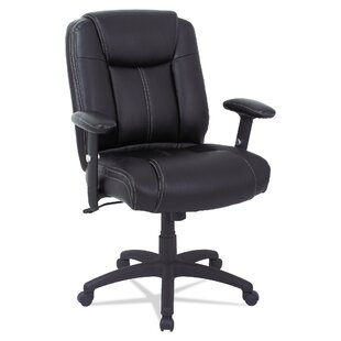 Otwell Mid-Back Genuine Leather Task Chair by Symple Stuff Cool