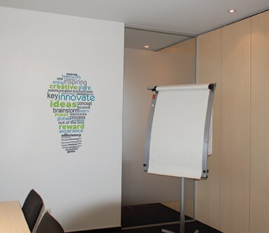 Nice Office Deco Transfer Inspiration Bulb Wall Decal