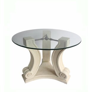 Glyndon Glass Dining Table by Fleur De Li..