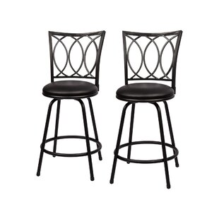 Schmitt Adjustable Height Bar Stool (Set of 2)