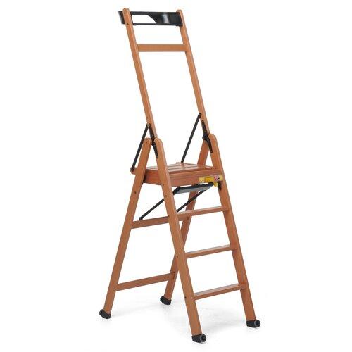 1|68 m Trittleiter Lascala aus Aluminium Foppapedretti | Baumarkt > Leitern und Treppen > Trittleiter | Foppapedretti