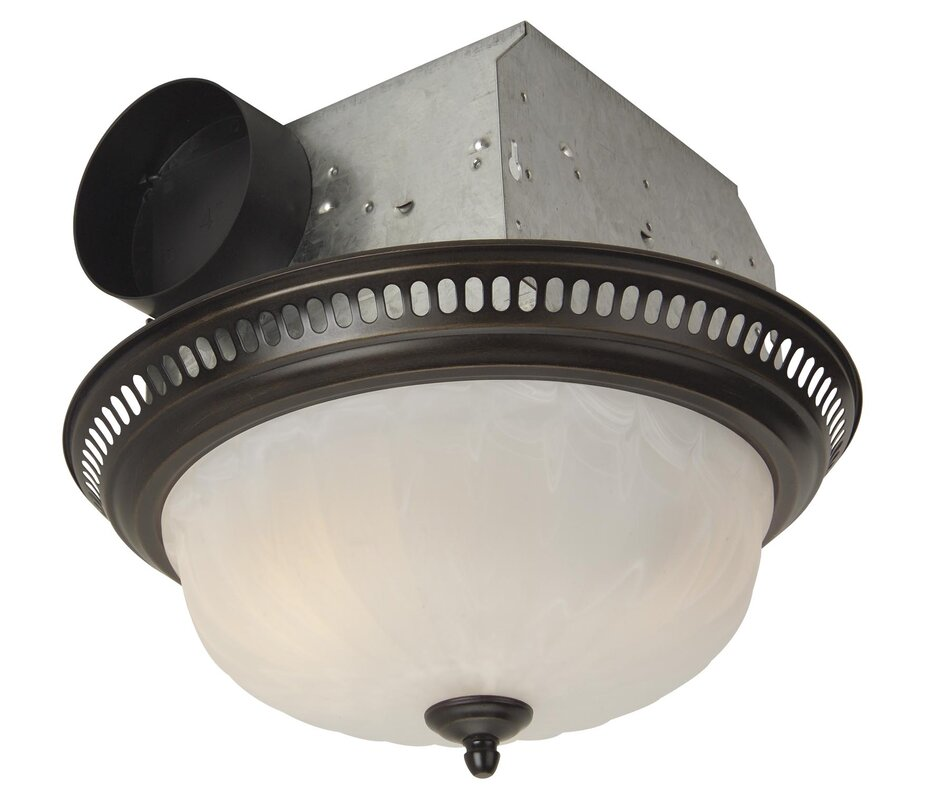 Best bathroom fan reviews top 10 ceiling exhaust fan with light heater if designer style is your thing craftmade has some of the best bathroom ventilation fans around these fans are for the discerning homeowner who believes aloadofball Choice Image