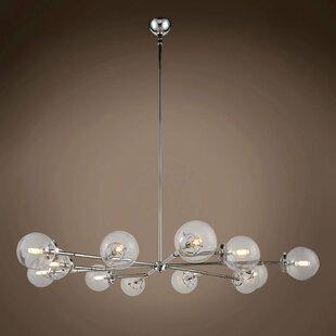 Brayden Studio Chairez 12-Light Chandelier