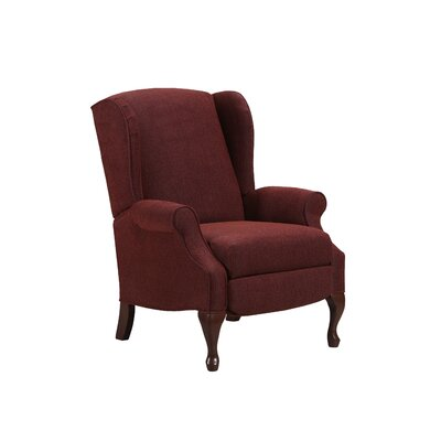 August Grove Manual Recliner Upholstery Color: Glenrock Tawny by August Grove