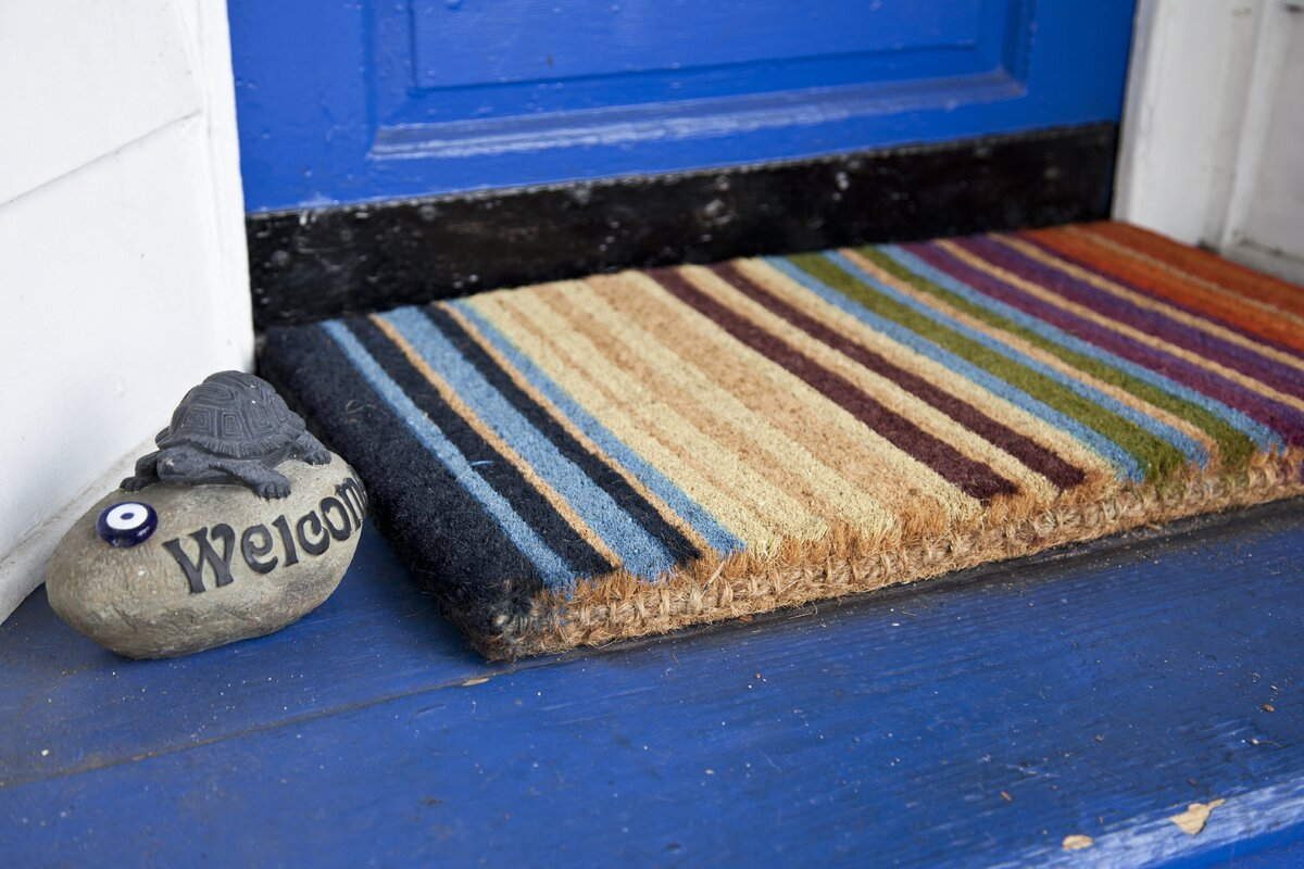 Sturbridge Rainbow Extra Thick Doormat & Reviews | AllModern