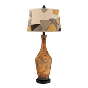 Painted Ceramic 32.5 Table Lamp