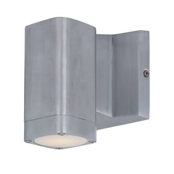 Orren Ellis Leilla 2 Light Led Outdoor Sconce Wayfair