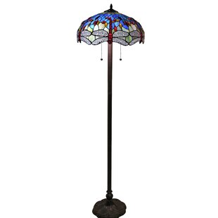 Best Azul Dragonfly 18 Floor Lamp By Warehouse of Tiffany
