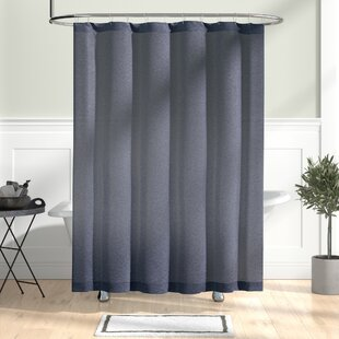 Compare Wallingford Woods Chambray Shower Curtain By The Twillery Co.