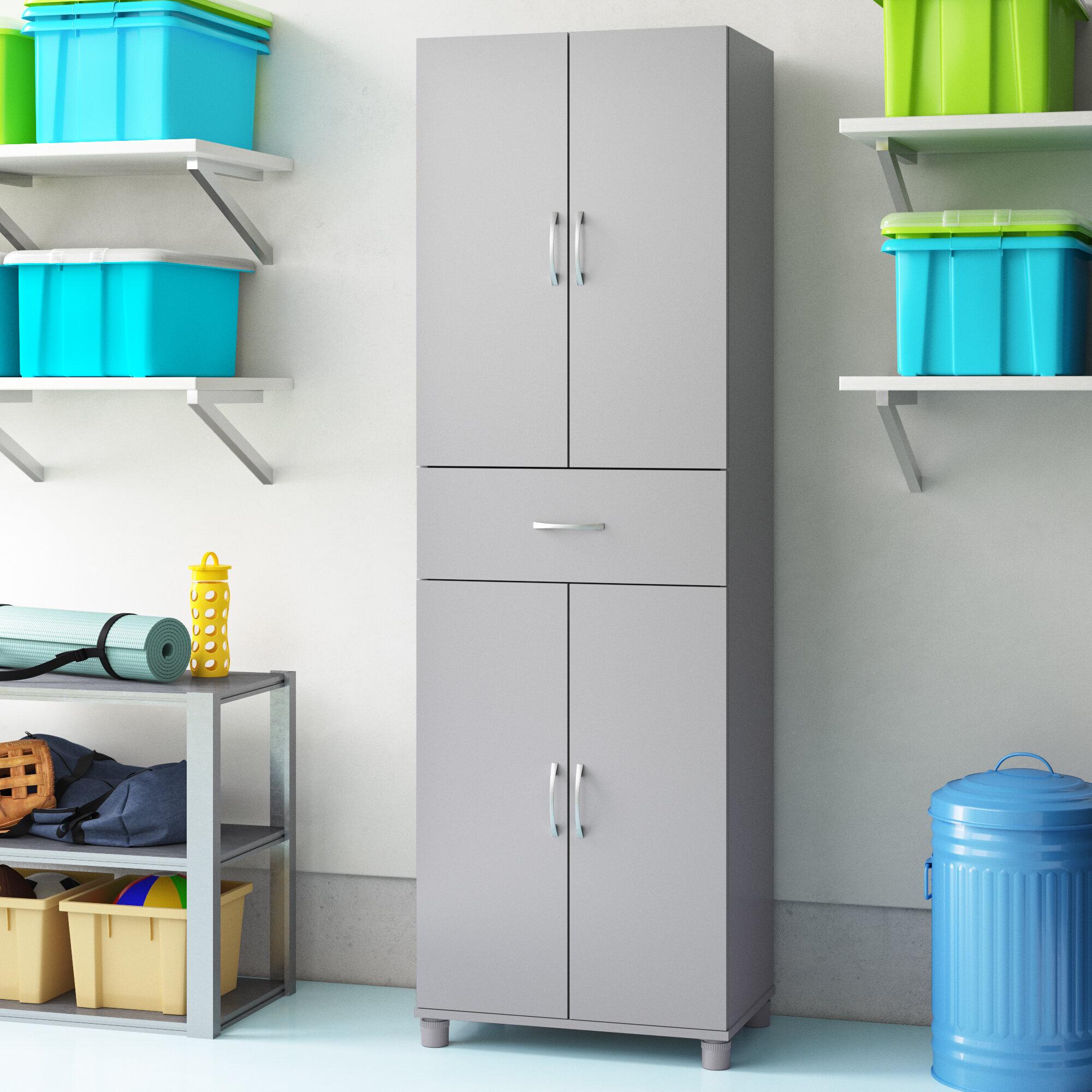 "Wayfair Basics Springboro 6"" H x 6"" W x 6"" D Storage Cabinet"