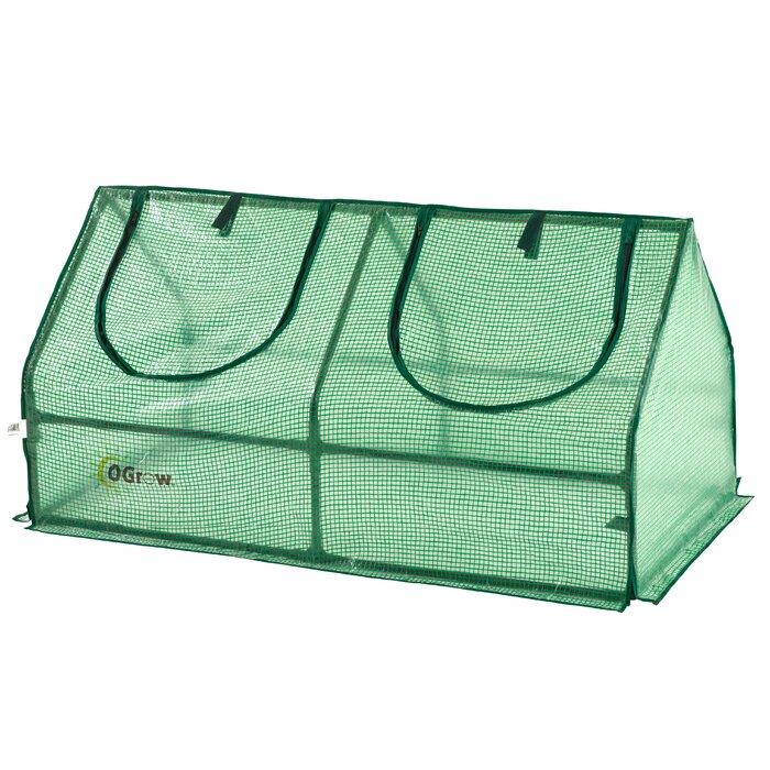 OGrow 47.04' W x 24' D Mini Greenhouse