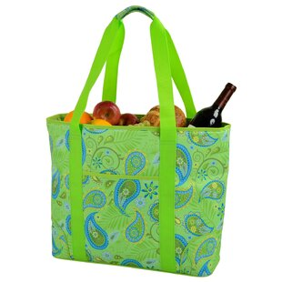 Picnic at Ascot 30 Can Paisley Extra Large Insulated Tote Cooler