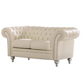 Adelina 67 Rolled Arms Loveseat by Rosdorf Park