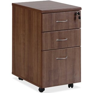 Lorell Essentials 3-Drawer Vertical Filing Cabinet