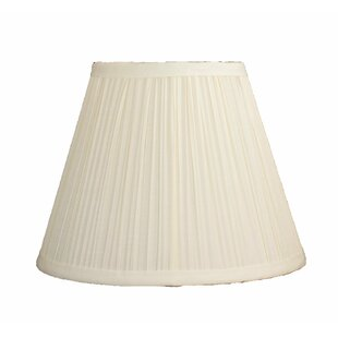 Pleated Softback 9 Silk/Shantung Empire Lamp Shade