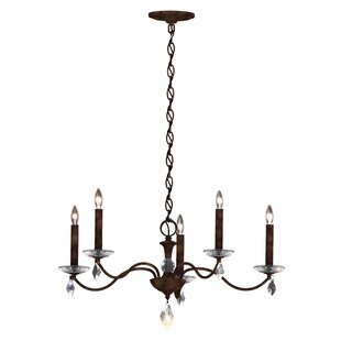 Schonbek Modique 5-Light Chandelier