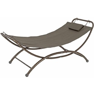 Freeport Park Spann Patio Hanging Chaise Lounger with Stand
