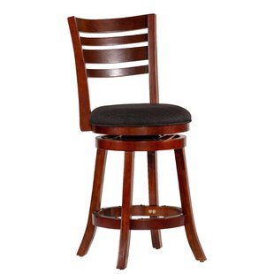 Awesome Orourke Bar Counter Swivel Bar Stool Spiritservingveterans Wood Chair Design Ideas Spiritservingveteransorg