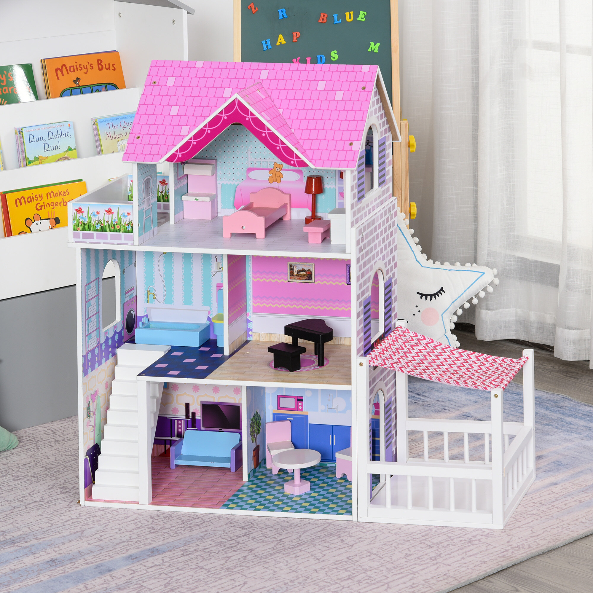 Dollhouses Dollhouse Accessories Wayfair