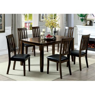 Guevara Transitional 7 Piece Dining Set Alcott Hill