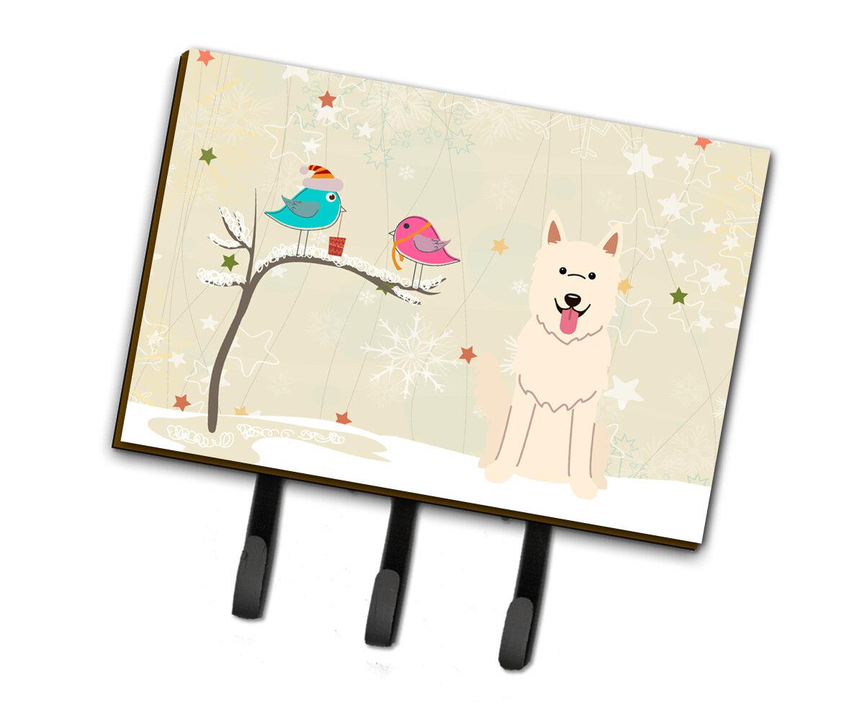 The Holiday Aisle Christmas German Shepherd Leash Or Key Holder Wayfair
