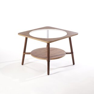 Buy clear Daleyza Coffee Table by Corrigan Studio Reviews (2019) & Buyer's Guide