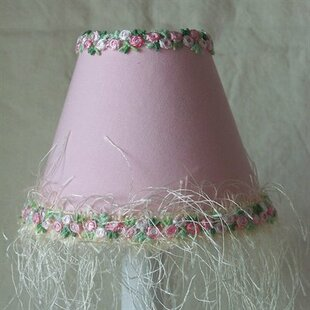 Blushing Princess 11 Fabric Empire Lamp Shade