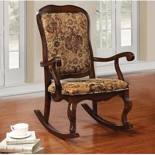 Astoria Grand Lebow Rocking Chair