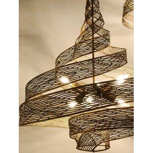 Dream 6-Light Geometric Pendant by Bloomsbury Market
